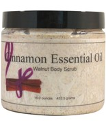 Cinnamon Essential Oil Walnut Body Scrub - $20.36+
