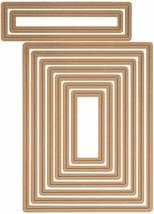 Spellbinders Nestabilities Card Creator, A2 Matting Basics B, Dies, Set of 9 image 1