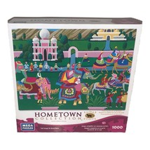 """Hometown Collection 1000 Pc Jigsaw Puzzle 18.94""""x26.75"""" Elephant Festival - $19.34"""