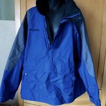 Columbia Men's Nylon Ski Shell Pullover Parka Anorak Jacket  Roll Away Hood. XL - $38.61