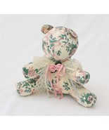 """Interpur Bear Quilted 9"""" Tall Stuffed Animal With Lace Trim - $19.79"""
