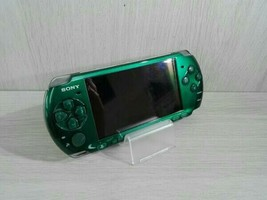 Playstation Portable Spirited Green PSP 3000SG Sony Limited Color Consol... - $84.89