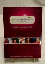 New WEIGHT MANAGEMENT YourBetterTomorrow HYPNOTHERAPY CD Your Better Tom... - $13.97