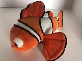 """Disney Store Finding Nemo Clownfish Plush Stuffed Animal Toy 9"""" - $9.22"""