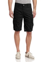 Levi's Men's Cotton Ace Twill Cargo Shorts Relaxed Fit Black 124630013 Size 34