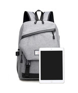 Anti-Theft Unisex Travel Business Laptop Waterproof Backpack USB Port Sc... - $41.98