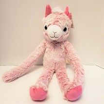 """Pink Llama Plush 16"""" Stuffed Animal New- Hangs from your neck - $14.54"""