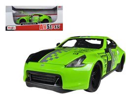 2009 Nissan 370Z #88 Green 1/24 Diecast Model Car by Maisto - $52.99