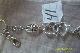 # purse jewelry silver color beauty keychain backpack filigree dangle charm #41 image 3