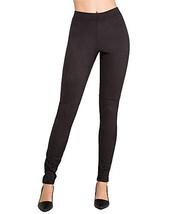 HUE Women's Ultra Suede Leggings, Black, Large - $41.16