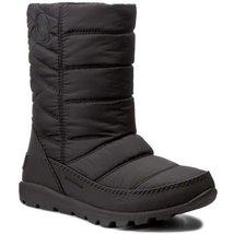 Sorel Black Waterproof Mid Boot, WHITNEY, Style# 1767381010, Big Girl Si... - $59.00