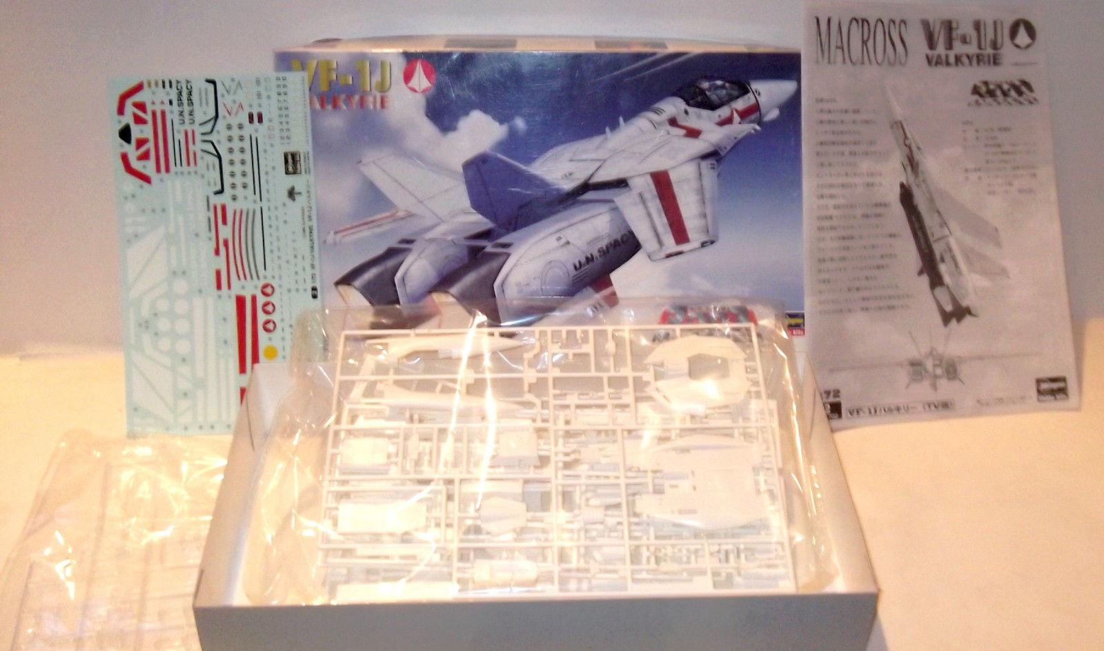 RARE ✰ Hasegawa Robotech Macross VF-1K Valkyrie 1/72 Model Kit NEW IN BOX