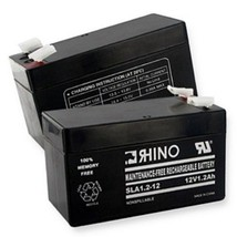 Power Sonic PS1212 12 VOLT 1.2 Ah PS12120F2 Replacement Rhino Battery - $26.18