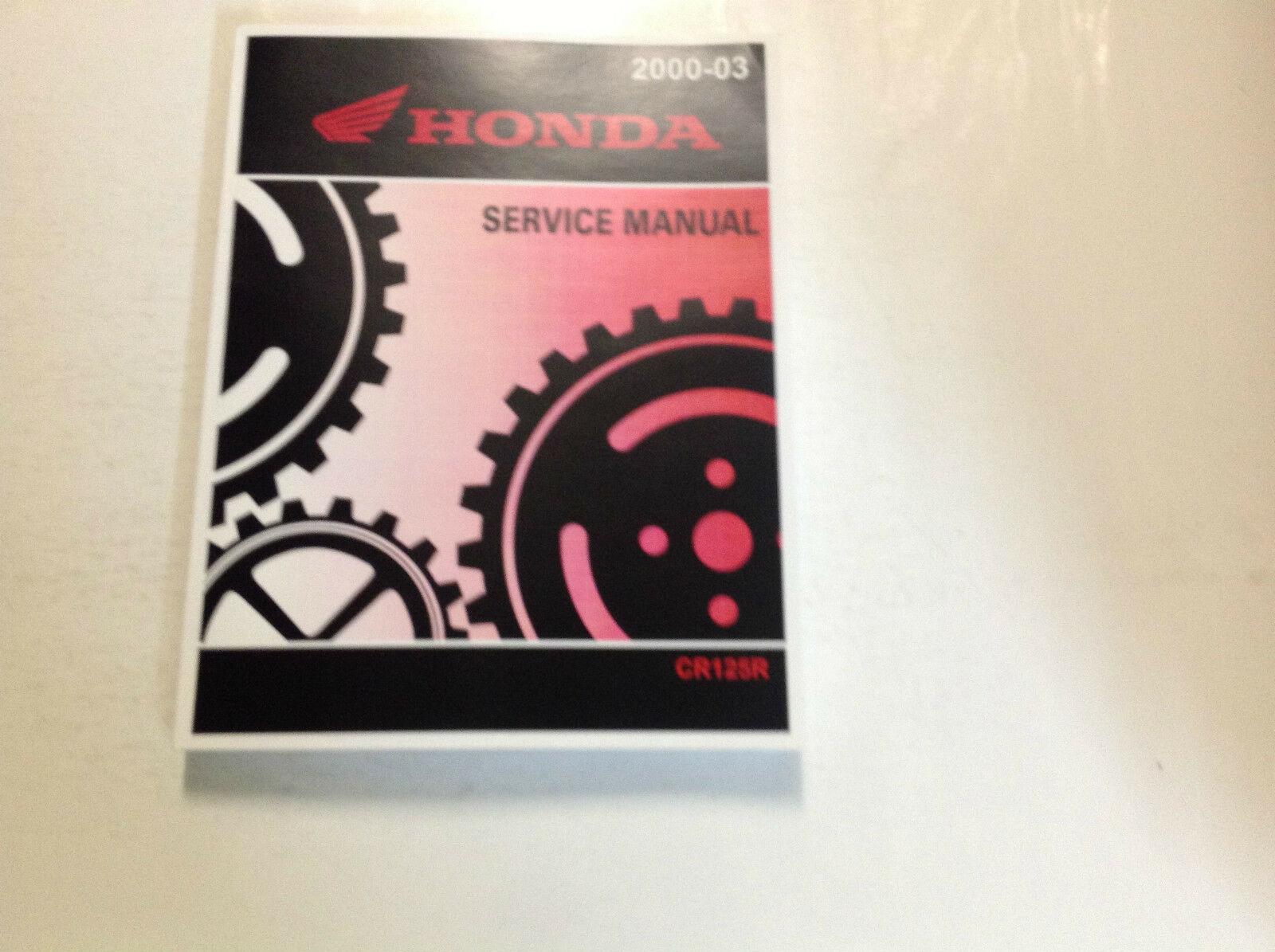 2000 2001 2002 2003 honda cr125r Service Repair Manual FACTORY OEM NEW - $102.98