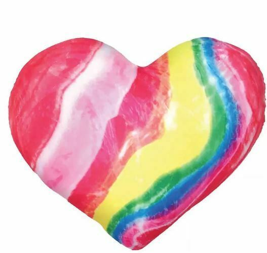 2 Scoops Valentine's Microbead Pillow - Candy Heart