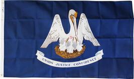 Louisiana - 3'X5' Heavy Duty 2-Ply Polyester Flag - $54.00