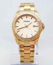 New Fossil BQ3187 Classic Glitz Rose Gold Stainless  Women Watch - $90.74
