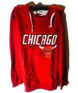 adidas Women's Chicago Bulls Distressed Back Logo Pullover Hoodie MEDIUM... - $28.70