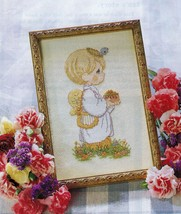 3X Cross Stitch Precious Moments Seeds Of Love Chapel Voice Of Spring Pa... - $11.99