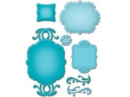 Spellbinders Shapeabilities Ornate Artisan Tags and Accents Dies #S5-070 image 2