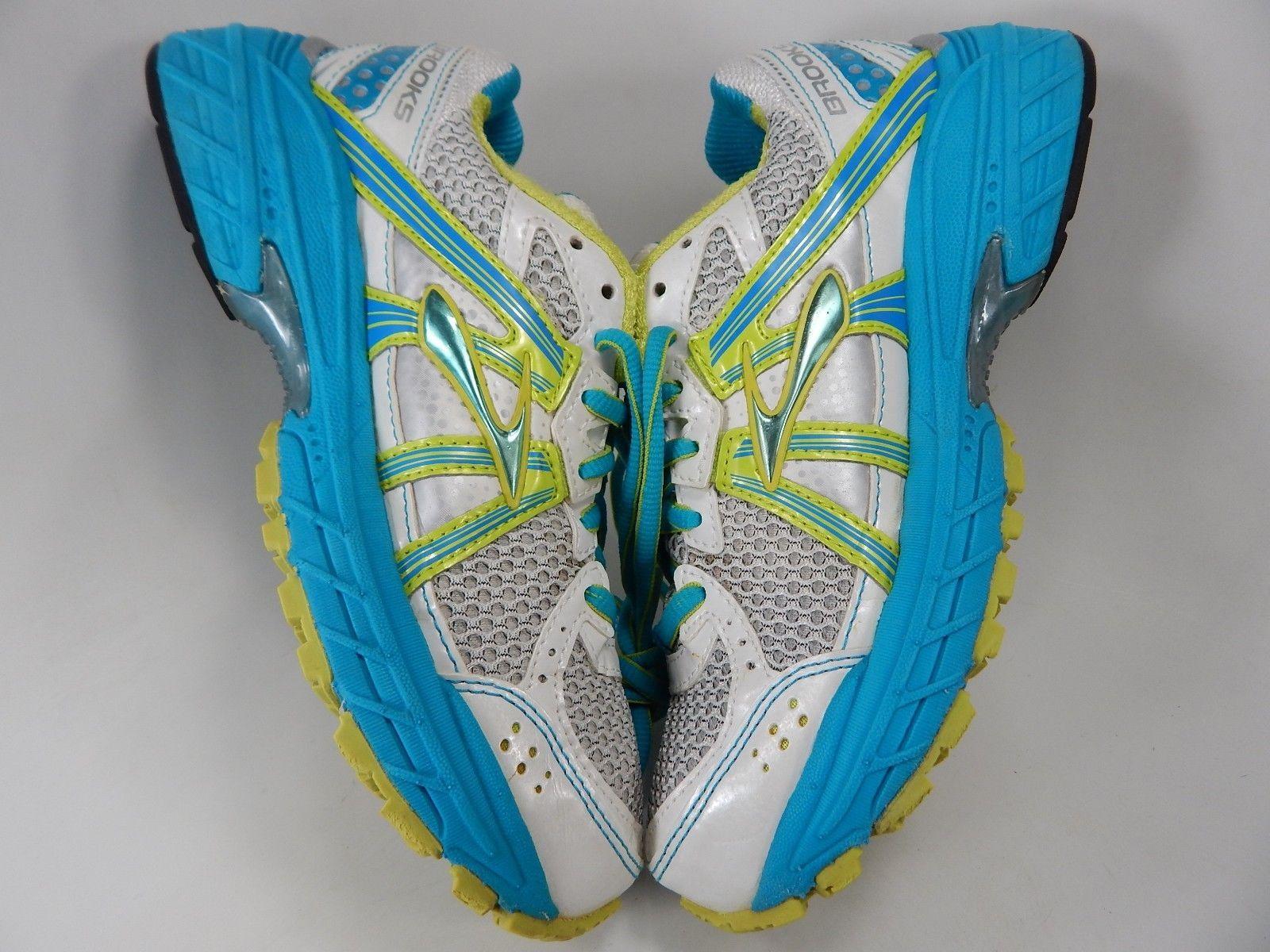 Brooks Defyance 7 Sz US 6 M (B) EU 36.5 Women's Running Shoes White 1201481B331