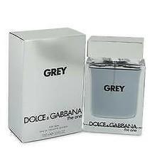 The One Grey Cologne By  DOLCE & GABBANA  FOR MEN  3.4 oz Eau De Toilett... - $76.55