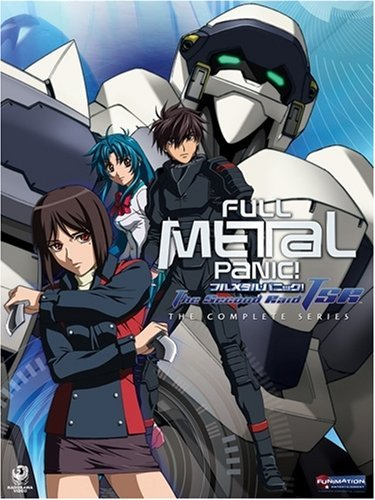 Full Metal Panic! The Second Raid 4 disc DVD Box Set (2008)