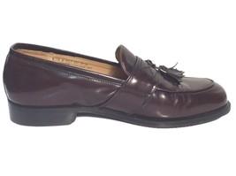 Bostonian Florentine Men's Cordovan Leather Kiltie Tassel Loafers 8M Italy 24808 - $30.69