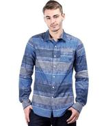 Mens long sleeve button up shirt - $13.99