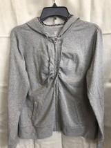 New York And Company Women's Large Zip Up Hoodie Jacket Bling Rhinestone... - £13.38 GBP