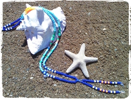 DESERTED ISLAND HORSE RHYTHM BEADS ~ Horse Size / Approx. 54 Inches - $23.00