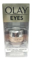 Olay Eyes Ultimate Eye Cream for Dark Circles, Wrinkles & Puffiness, 0.4... - $15.83