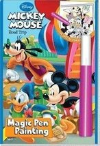 Disney Road Trip Mickey Mouse Magic Pen Painting Book by Lee Publications - $3.99