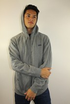 VANS Off The Wall Men's Full Zip Hoodie Grey Cotton/Polyester Size M New - $42.06