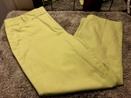 Talbots Womens Cropped Capri Pants Stretch Size 12 Cotton Stretch Spring... - $15.67