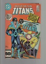 Tales of the Teen Titans #59 -  November 1985 DC Comics - Where Nightmares Begin - $0.98