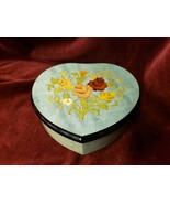 REUGE Music Box No 6231 The Music of the Night Made in Italy Heart Shape... - $49.49