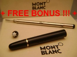 Replacement spare Parts Pen Barrel for Montblanc 163 Black & Gold + Bonu... - $79.72