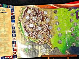 50 State Quarters Collector's Map AA19-CN19Q6021 image 4