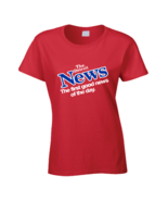 Drew Barrymore Detroit News Red Ladies T Shirt - $21.99+