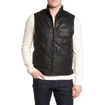 Classic Style men leather Vest