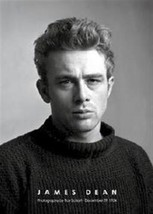 JAMES DEAN ~ BLACK SWEATER PORTRAIT 24x36 POSTER  - $18.00