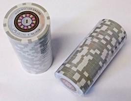 XD-37 Silver 1$ High Roller Hologram Casino Poker Chips 50pcs - $5.45