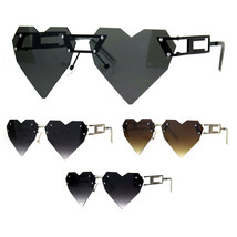 Womens Pixel Squared Geometric Heart Art Deco Nouveau Sunglasses - $12.95