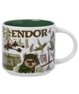Disney Starbucks Been There Star Wars Endor Ceramic Coffee Mug New with Box - $29.69
