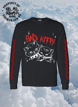 Bad Kitty, Vintage Storybook, T-Shirt, Punk,Goth, Emo, E-boy, E-girl, Tr... - $20.00+
