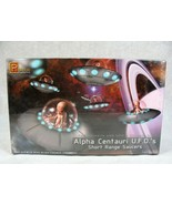 PEGASUS ALPHA CENTAURI UFO'S ALIEN SHORT RANGE SAUCERS SEALED MODEL KIT ... - $29.69