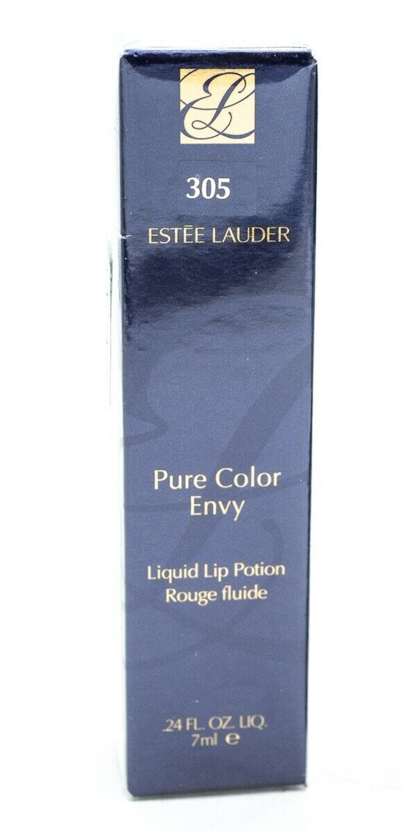 Primary image for Estee Lauder Pure Color Envy Liquid Lip Potion 305 Bruised Peach  .24 fl oz