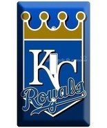 KANSAS CITY ROYALS KC BASEBALL MLB SINGLE LIGHT SWITCH WALL PLATE COVER ... - $8.99