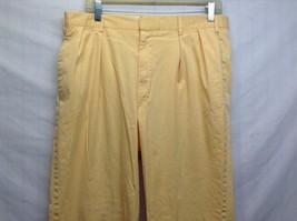 Ben Silver Charleston Mustard Yellow Cuffed Pants image 2